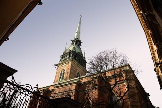 Stockholm: Tyska Kyrkan / Deutsche Kirche