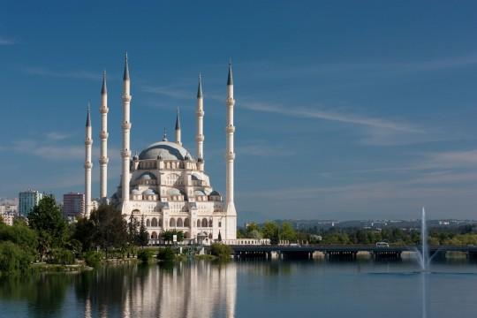 Adana und Mersin: Sabancı-Zentralmoschee