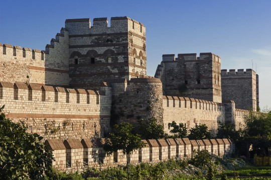 Istanbul: Stadtmauer