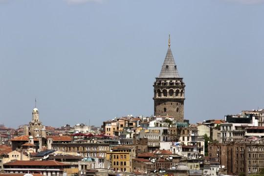 Istanbul: Galata Turm