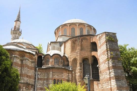 Istanbul: Chora-Kirche (Kariye Camii)