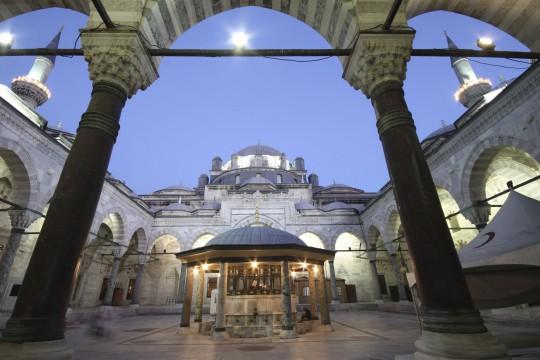 Istanbul: Beyazit Moschee