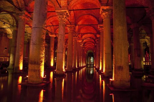 Istanbul: Versunkener Palast