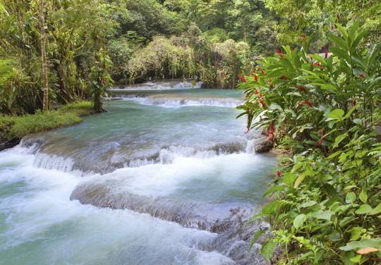 Jamaika: Dunn's River Falls & Park