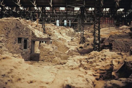 Santorin: Ausgrabungsstätte Akrotíri