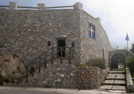 Santorin: Kloster Profítis Ilías