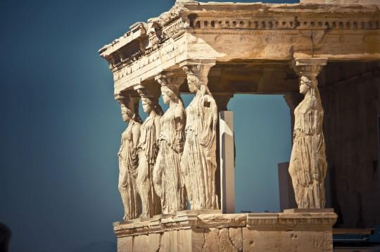 Athen: Karyatide