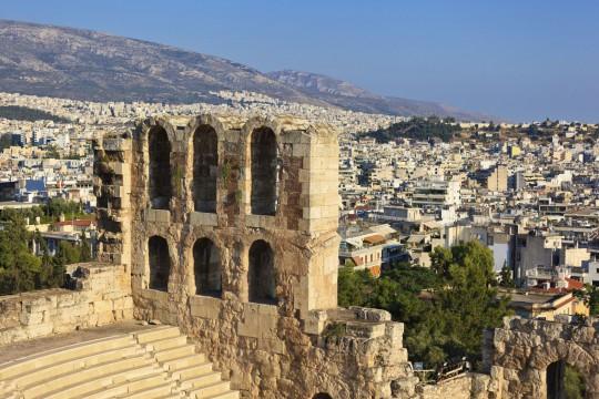 Athen: Odeon des Herodes Attikus