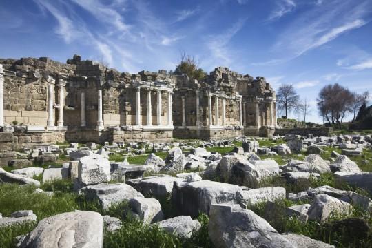 Athen: Hadriansbibliothek