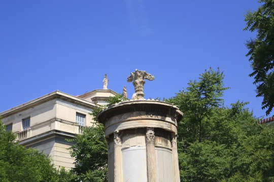 Athen: Lysikrates-Denkmal