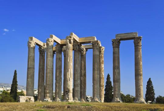 Athen: Olympieion