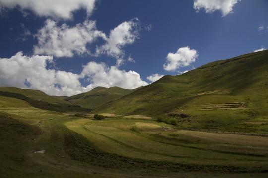 Lesotho: Hochland