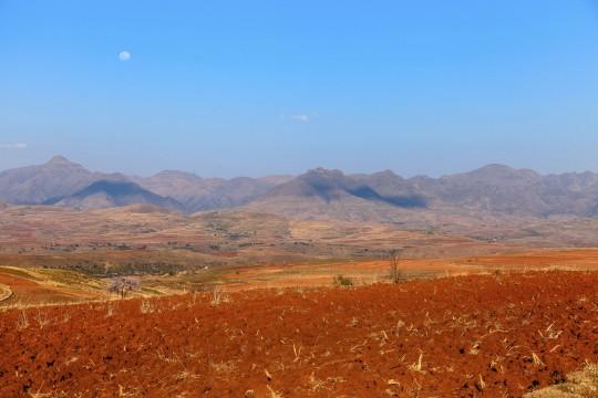 Lesotho: Landschaft