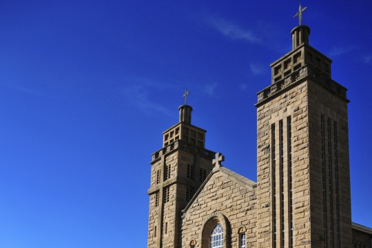 Lesotho: Our Lady of Victory Cathedral, Maseru