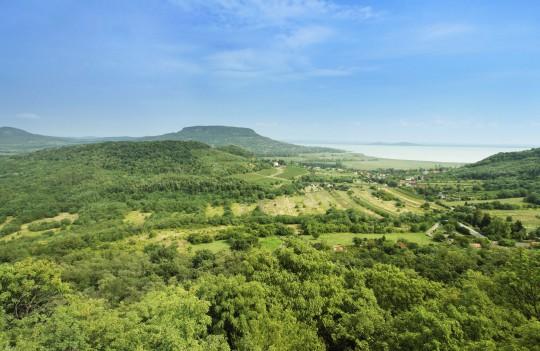 Balaton: Landschaft
