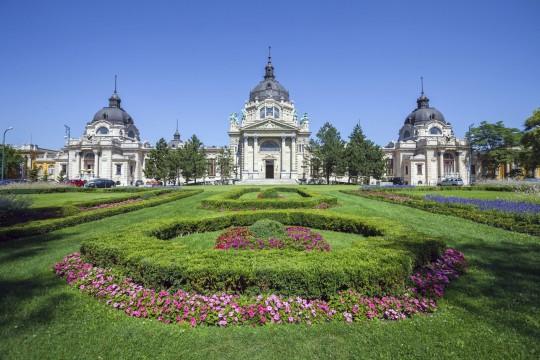 Budapest: Szechenyi Bad