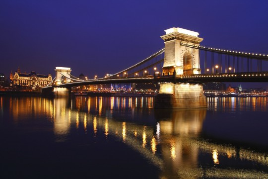 Budapest: Kettenbrücke