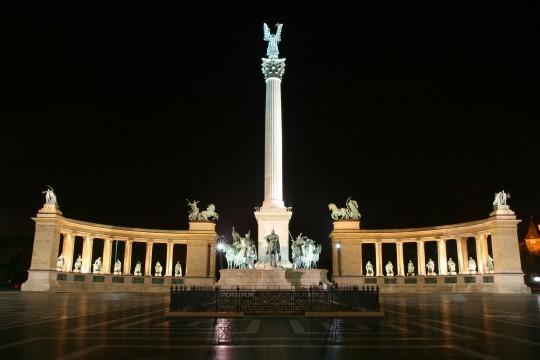 Budapest: Heldenplatz