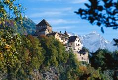 Liechtenstein: Schloß Vaduz