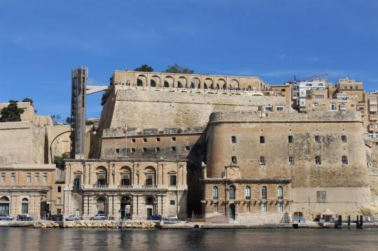 Grand Harbour in Valletta