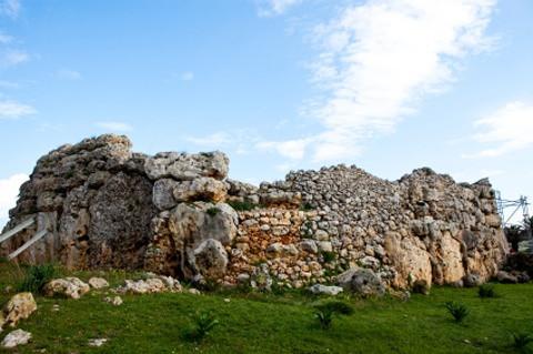 Xaghra/Gozo: Tempel von Ggantija