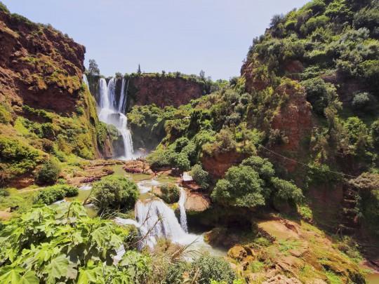 Marokko: Ouzoud Wasserfälle