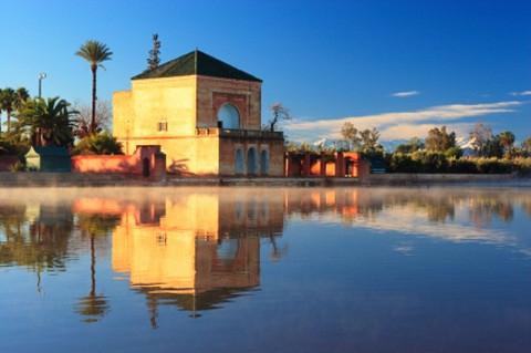 Marrakesch: Jardin Ménara