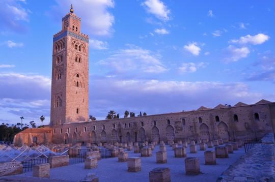 Marokko: Mosqée Koutoubia