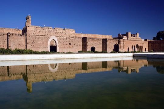 Marokko: Palais el Badi