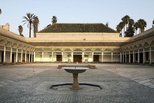 Marokko: Palais Bahia