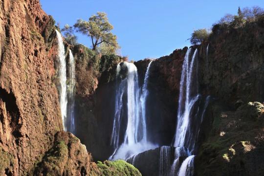 Marokko: Cascades d'Ouzoud