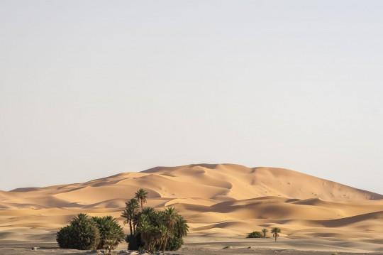 Sanddünengebiet um Merzouga