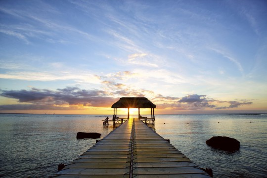 Mauritius: Sonnenuntergang