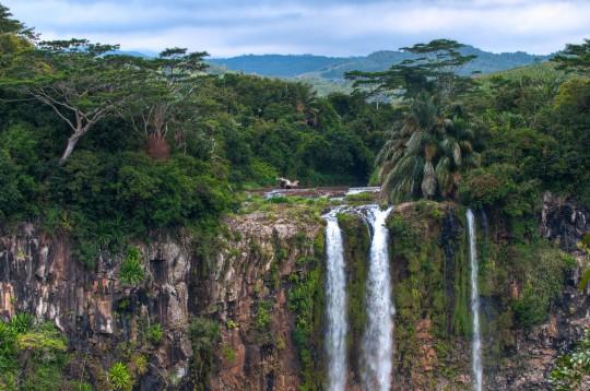 Mauritius: Chamarel Wasserfall