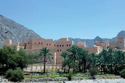 Oman: Oasenfestung