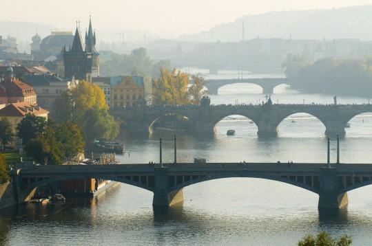 Prag: Brücken