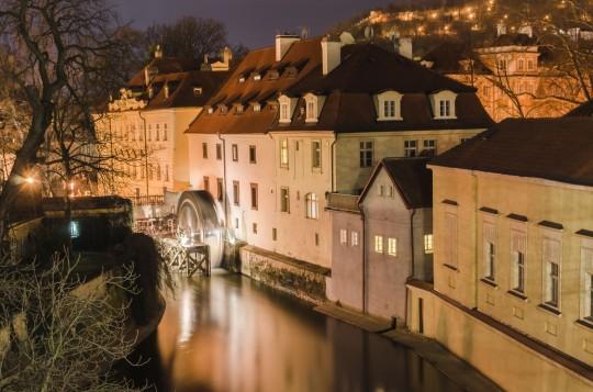 Prag: Moldauinsel Kampa