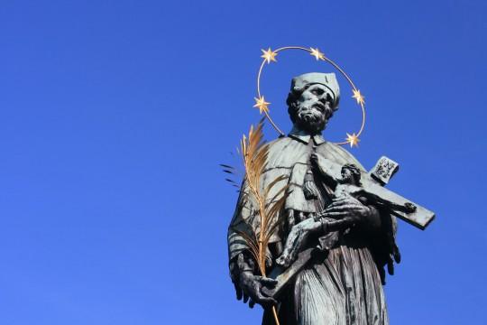 Prag: Heiliger Johannes von Nepomuk