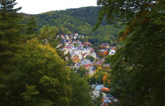 Karlsbad: Panorama