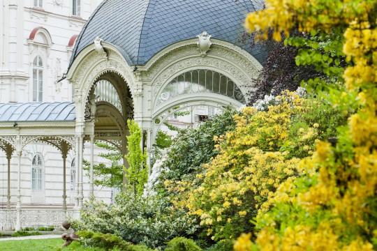Karlsbad: Gartenkolonnade