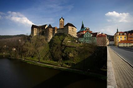 Karlsbad: Burg Loket