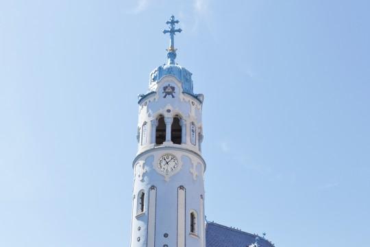 Bratislava: St. Elisabeth Kirche (Blaue Kirche)