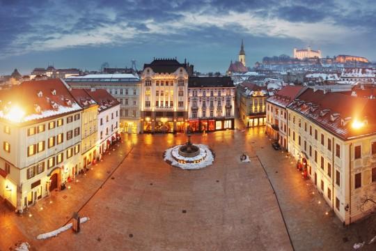 Bratislava: Hviezdoslav-Platz