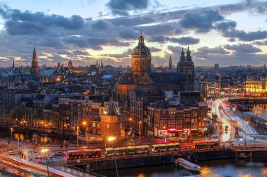 Amsterdam: Nachtverkehr