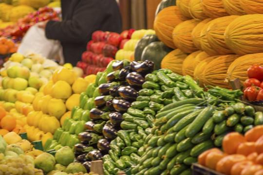 Wochenmarkt in Loulé (Symbolbild)