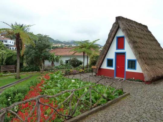 Madeira: Casas de Colmo