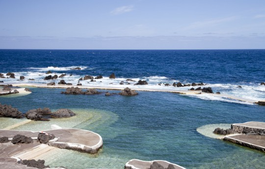 Madeira: Lavaschwimmbecken