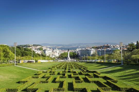 Lissabon: Eduardo 7th Park