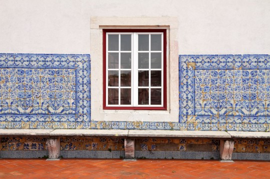 Lissabon: Detail of Portuguese house