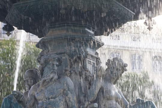Lissabon: Rossio bzw. Praça de Dom Pedro IV